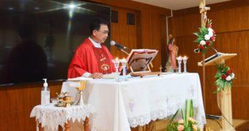 พิธีบูชาขอบพระคุณโอกาสเปิดปีการศึกษา 2563